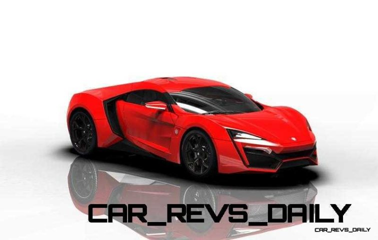 CarRevsDaily Supercars - 2014 W Motors Lykan Hypersport Colors 87