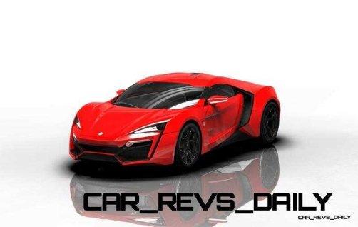 CarRevsDaily Supercars - 2014 W Motors Lykan Hypersport Colors 94