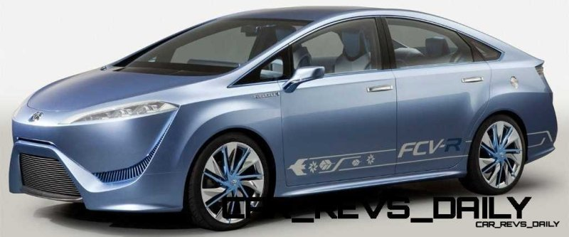CarRevsDaily - Toyota FCV-R Concept 20
