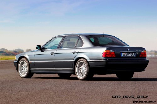 Celebrating the Evolution of the V12 BMW 7-series 39