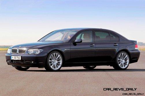 Celebrating the Evolution of the V12 BMW 7-series 49