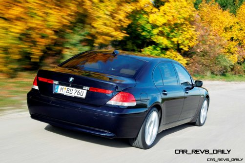 Celebrating the Evolution of the V12 BMW 7-series 56