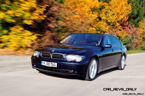 Celebrating the Evolution of the V12 BMW 7-series 57