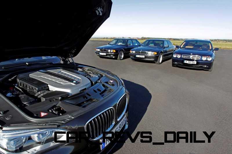Celebrating the Evolution of the V12 BMW 7-series 72