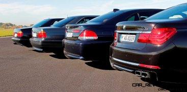 Celebrating the Evolution of the V12 BMW 7-series 73