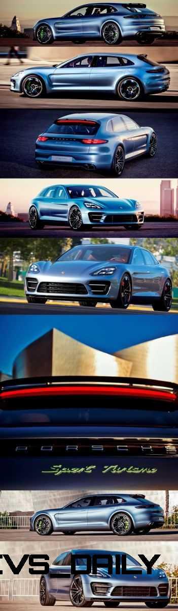 Concept Debrief - Porsche Panamera Sport Turismo 8-vert
