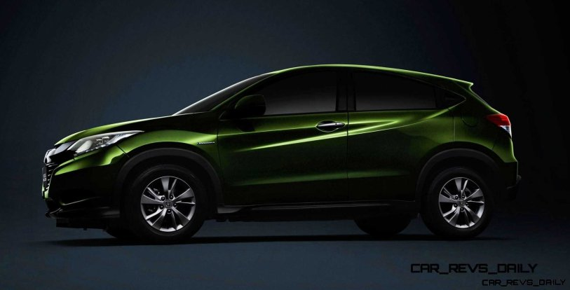 Cool! 2015 Honda Vezel Hybrid Previews Spring 2014 Civic CUV20