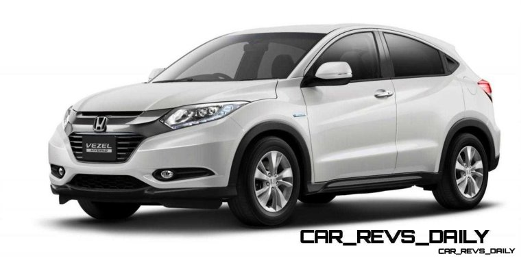 Cool! 2015 Honda Vezel Hybrid Previews Spring 2014 Civic CUV24