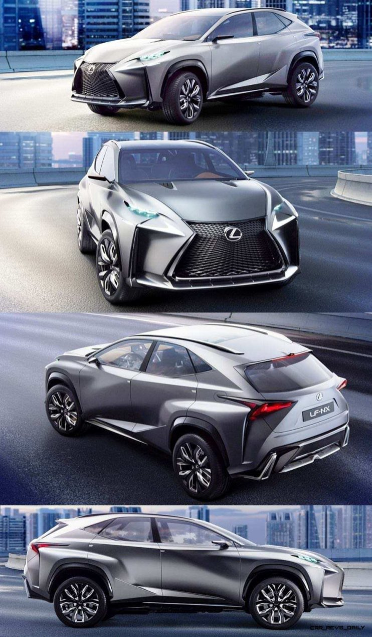 Fascinating LF-NX Turbo Concept Previews Exciting New Surfaces1-vert