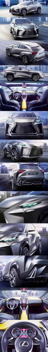 Fascinating LF-NX Turbo Concept Previews Exciting New Surfaces1-vert111