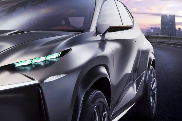 Fascinating LF-NX Turbo Concept Previews Exciting New Surfaces10