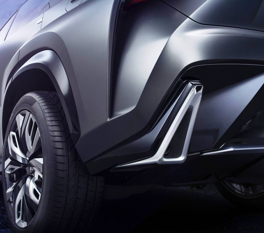 Fascinating LF-NX Turbo Concept Previews Exciting New Surfaces11