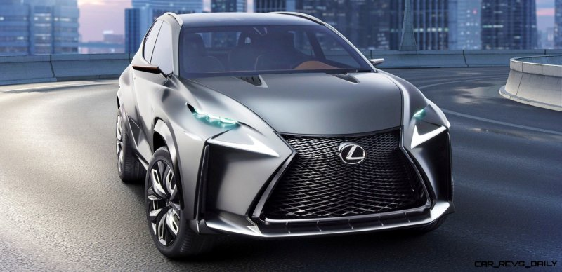 Fascinating LF-NX Turbo Concept Previews Exciting New Surfaces2