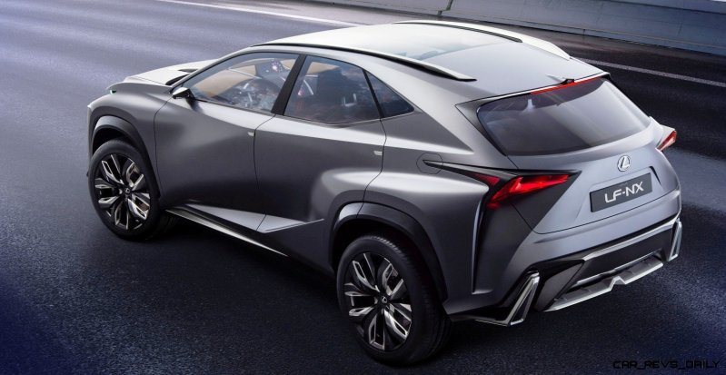 Fascinating LF-NX Turbo Concept Previews Exciting New Surfaces3