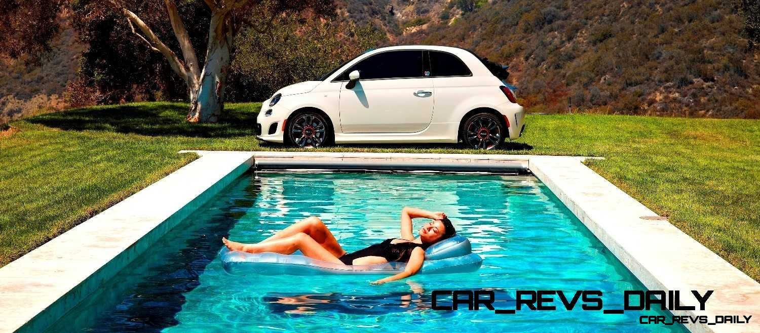 The FIAT brand partners with Condé Nast for the limited-edition Fiat 500c GQ Edition