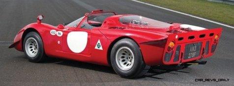 Hero Racecars Alfa-Romeo Tipo 33-2 LeMans and Mugello6