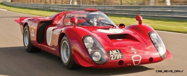 Hero Racecars Alfa-Romeo Tipo 33-2 LeMans and Mugello8