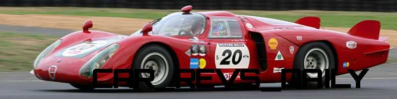 Hero Racecars Alfa-Romeo Tipo 33-2 LeMans and Mugello9