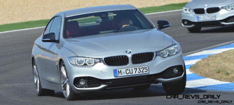 Latest BMW 435i Track Photos Show Beautiful Proportions 7