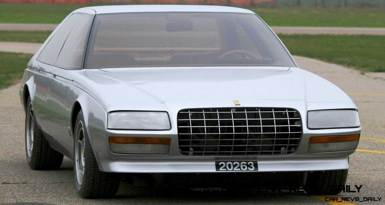 Most Copied 4-Door Never Made - 1980 Ferrari Pinin Concept 1