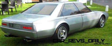 Most Copied 4-Door Never Made - 1980 Ferrari Pinin Concept 22