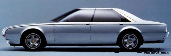 """- Prototipo di vettura a 4 porte denominata Ferrari """"Pinin"""""""