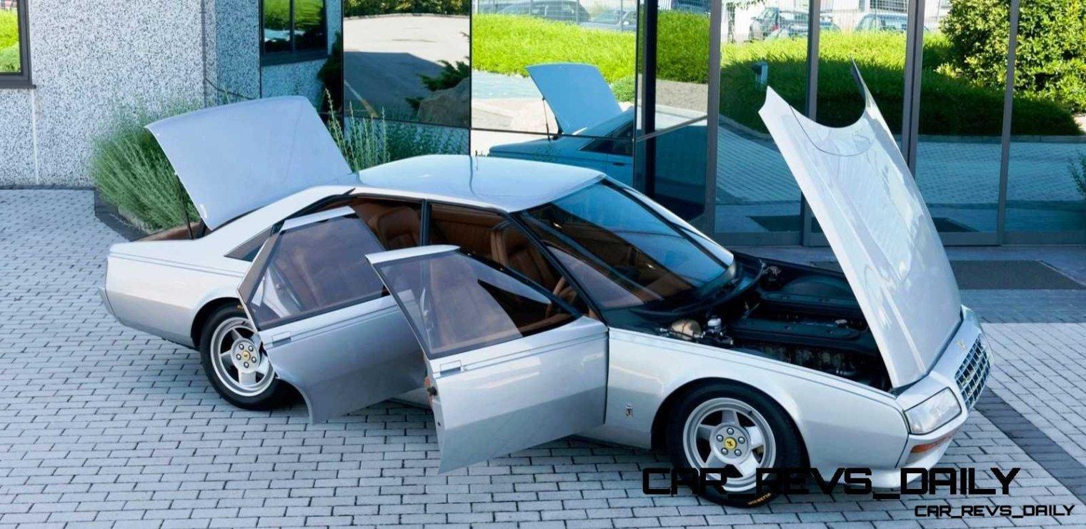 Most Copied 4-Door Never Made - 1980 Ferrari Pinin Concept 37