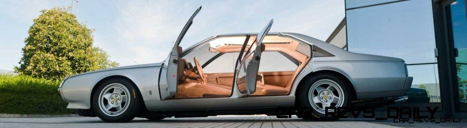 Most Copied 4-Door Never Made - 1980 Ferrari Pinin Concept 44