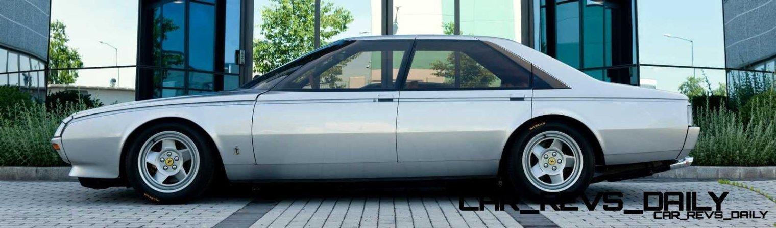 Most Copied 4-Door Never Made - 1980 Ferrari Pinin Concept 47