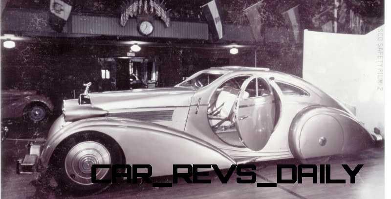 Peterson Auto Museum - 1925 Rolls-Royce Phantom I - 1934 Jonkheere Round Door Aero Coupe 4