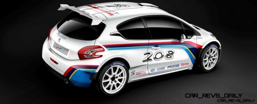Peugeot 208 T16 and 205 T16 Group B 50