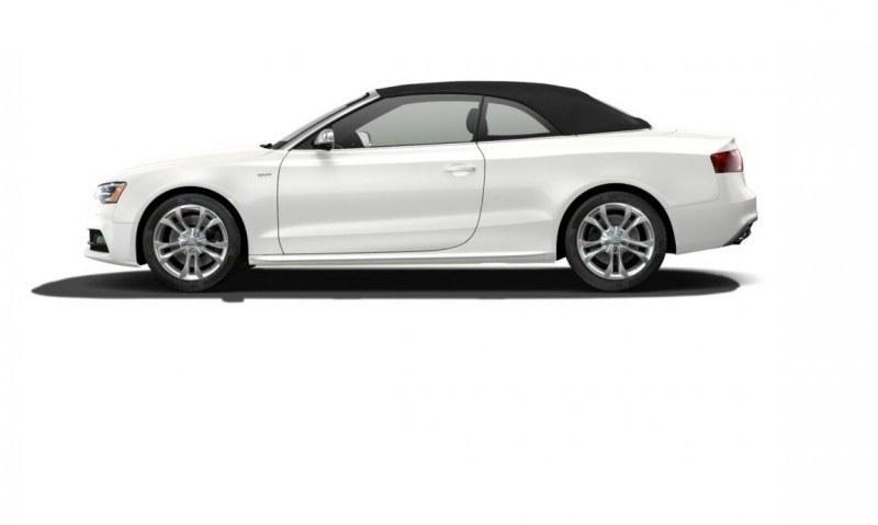 2014 Audi A5 Sport Package Cabriolet COLORS 53