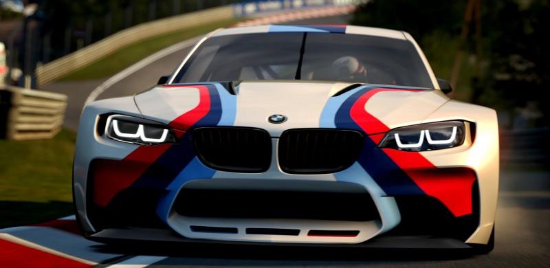 2014 BMW Vision Gran Turismo is 550HP Dream M4 CSL Widebody 49