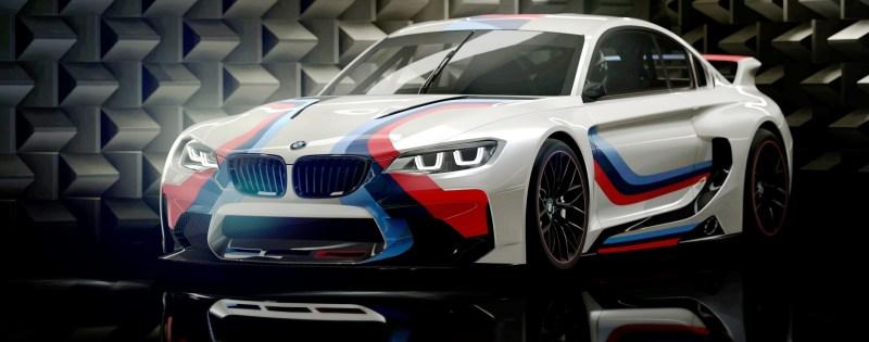 2014 BMW Vision Gran Turismo is 550HP Dream M4 CSL Widebody 54
