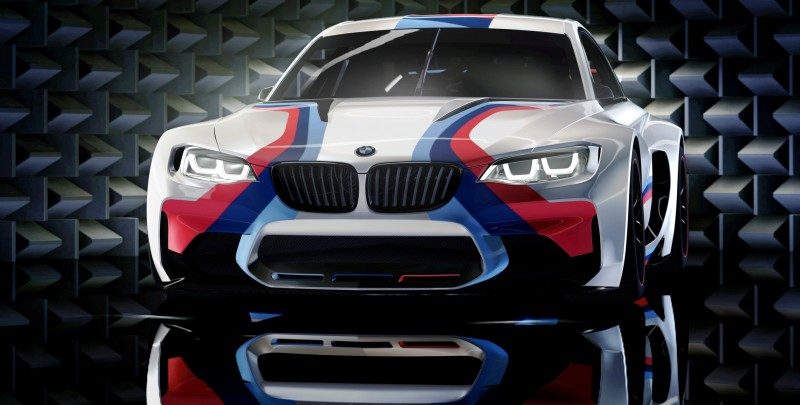 2014 BMW Vision Gran Turismo is 550HP Dream M4 CSL Widebody 55