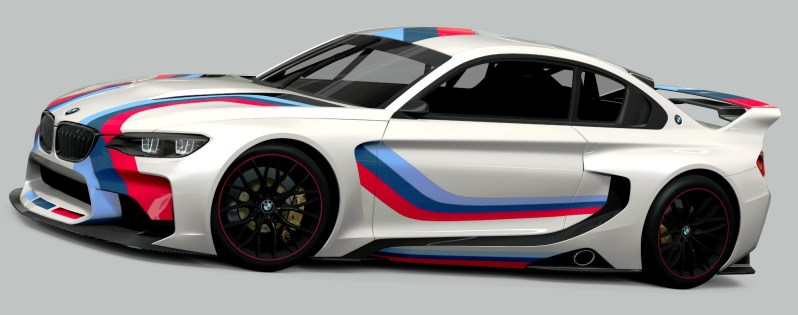2014 BMW Vision Gran Turismo is 550HP Dream M4 CSL Widebody 60