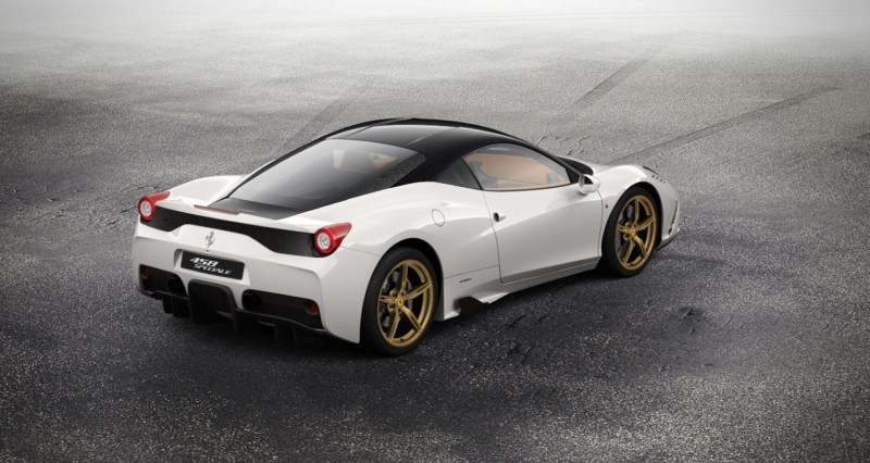 2014 Ferrari 458 Speciale Featured in All-New Car Configurator - See and Hear My Ideal Fezza 100