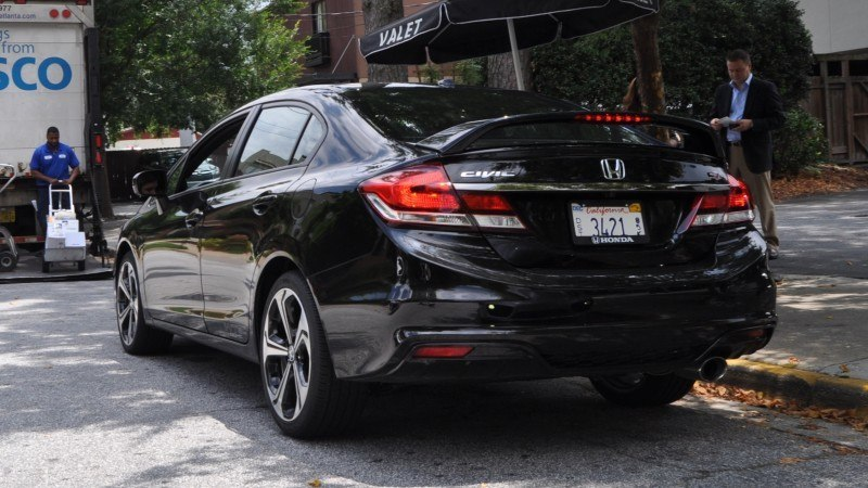 2014 Honda Civic Si Sedan Looking FU Cool In 32 Real-Life Photos 22