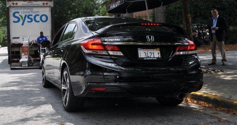 2014 Honda Civic Si Sedan Looking FU Cool In 32 Real-Life Photos 23