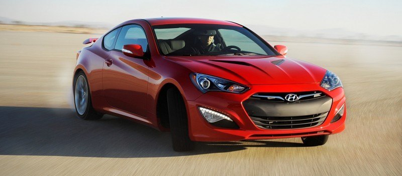 2014 Hyundai Genesis Coupe 3.8L V6 R-Spec - Road Test Review of FAST and FUN RWD Sportscar 1