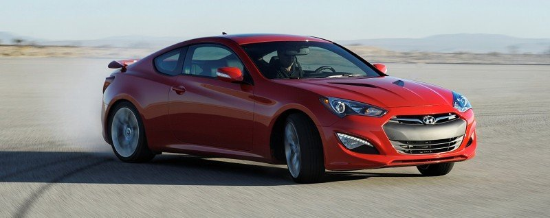 2014 Hyundai Genesis Coupe 3.8L V6 R-Spec - Road Test Review of FAST and FUN RWD Sportscar 10