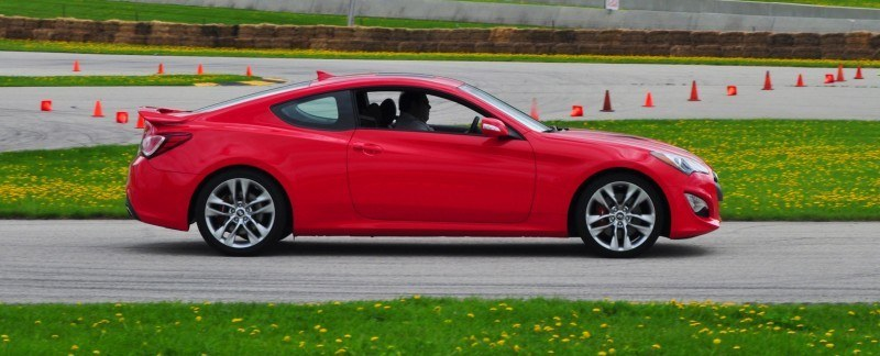 2014 Hyundai Genesis Coupe 3.8L V6 R-Spec - Road Test Review of FAST and FUN RWD Sportscar 109