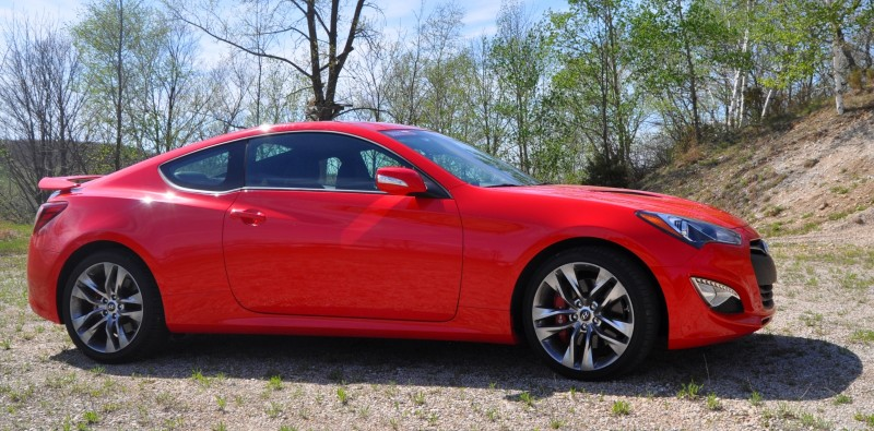 2014 Hyundai Genesis Coupe 3.8L V6 R-Spec - Road Test Review of FAST and FUN RWD Sportscar 25