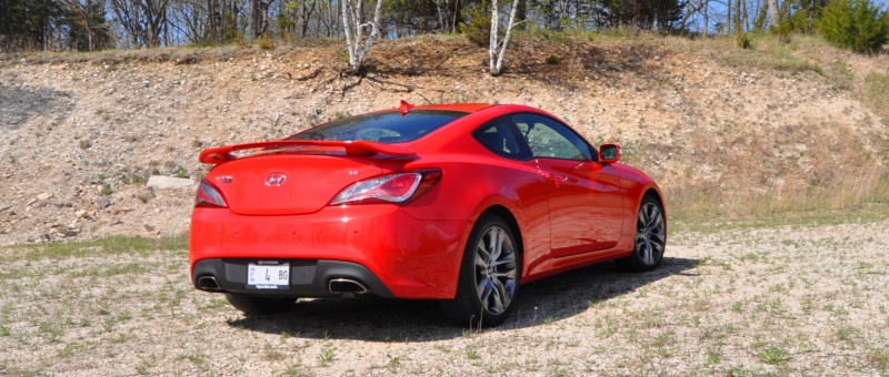 2014 Hyundai Genesis Coupe 3.8L V6 R-Spec - Road Test Review of FAST and FUN RWD Sportscar 36