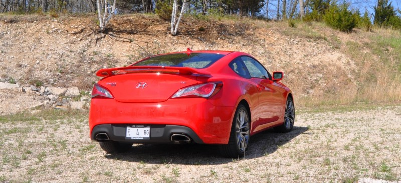 2014 Hyundai Genesis Coupe 3.8L V6 R-Spec - Road Test Review of FAST and FUN RWD Sportscar 37