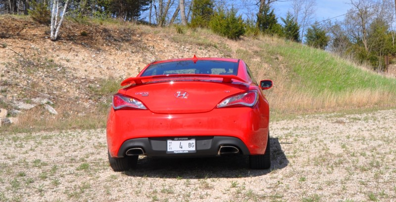 2014 Hyundai Genesis Coupe 3.8L V6 R-Spec - Road Test Review of FAST and FUN RWD Sportscar 40