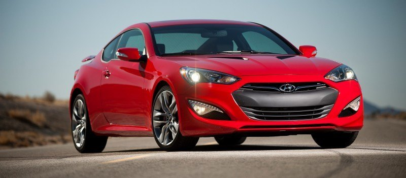 2014 Hyundai Genesis Coupe 3.8L V6 R-Spec - Road Test Review of FAST and FUN RWD Sportscar 5
