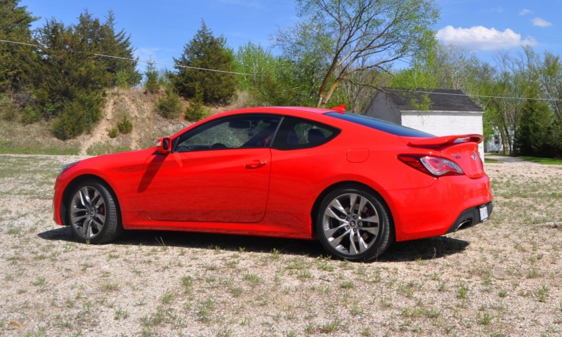 2014 Hyundai Genesis Coupe 3.8L V6 R-Spec - Road Test Review of FAST and FUN RWD Sportscar 51