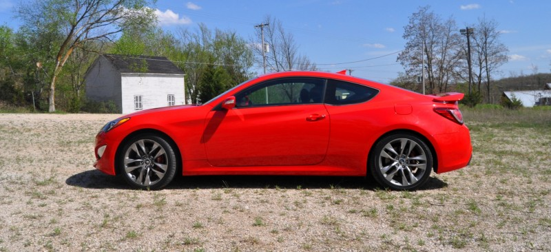 2014 Hyundai Genesis Coupe 3.8L V6 R-Spec - Road Test Review of FAST and FUN RWD Sportscar 55