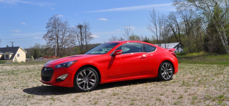 2014 Hyundai Genesis Coupe 3.8L V6 R-Spec - Road Test Review of FAST and FUN RWD Sportscar 59